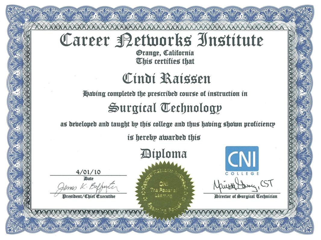 Certificate-ST
